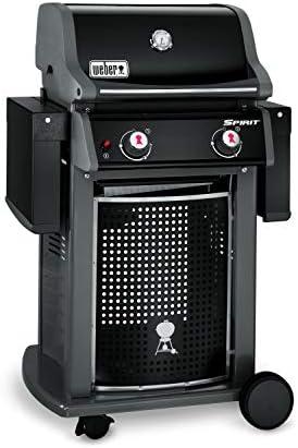 Weber 46010053 Spirit Classic E-210 Barbecue à Gaz avec 2 Brûleurs Noir
