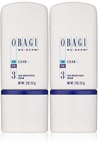 Obagi Medical Nu-Derm Clear Fx Skin Brightening Cream Pack of 2