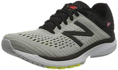 New Balance M860D10, Zapatillas para Correr para Hombre, Nube de Lluvia/Negro, 42 EU