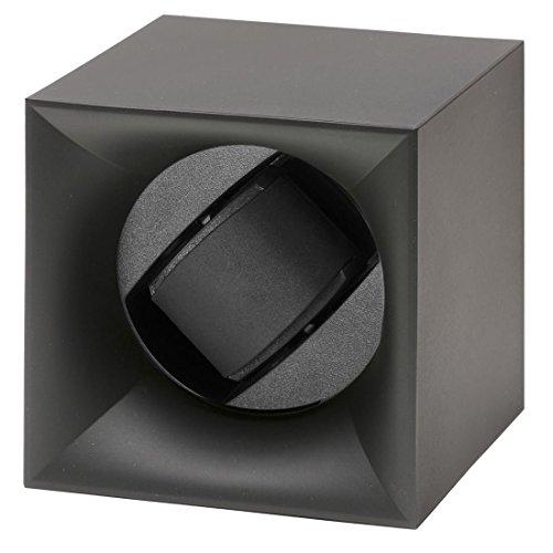 Swiss Kubik Startbox Single Uhrenbeweger in schwarz Soft Touch Finish SK.AB.001