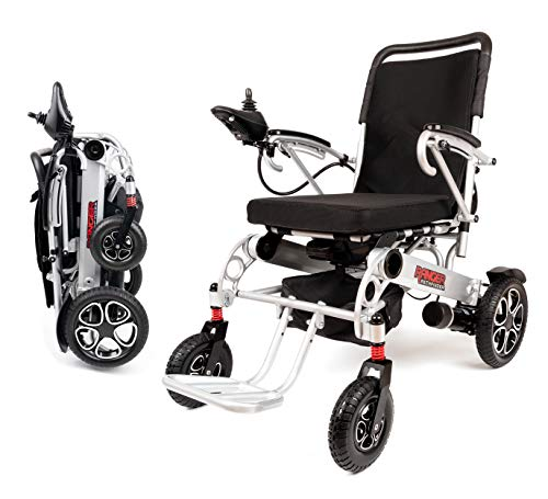 Best Review Of Porto Mobility Ranger X6 Portable Lightweight Premium Power Wheelchair Aerospace Alum...