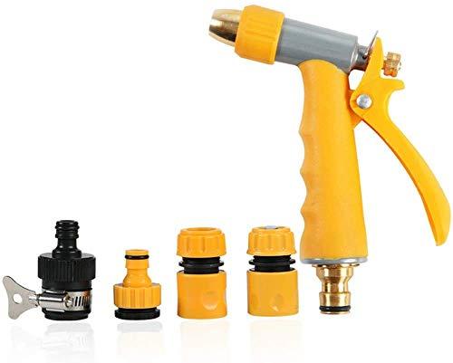 Idropulitrice, Pistola a spruzzo per Tubi ad Alta Pressione Autolavaggio Set di Pistole per Acqua Strumento per l'irrigazione a casa della Spazzola per Auto