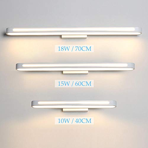 LED wandlamp spiegel licht badkamer armatuur kleedkamer wandlamp white_70cm_(18W) _Warm_White_(2700-3500K)