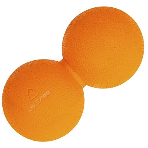 Bola de Massagem Amendoim, 14X6,5Cm, Liveup Sports