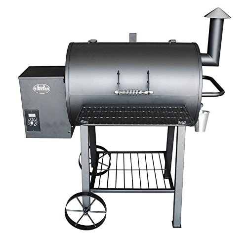 Wood Pellet Grill Smoker by Big Horn