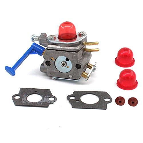 AISEN Vergaser mit Primer Pumpe für Husqvarna 124L 125L 125LD 128C 128L 128LD 128R 128RJ Freischneider Zama C1Q-W40A 545081848 545130001