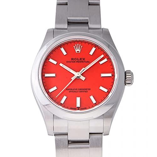 ロレックス ROLEX オイスターパーペチュアル 31 277200 コーラルレッド文字盤 未使用 腕時計 ユニセックス (W210341) [並行輸入品]