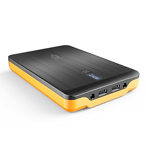 Intocircuit Power Monster 32000mAh Portable Charger Power Bank with 3-Port Output and US/EU/UK Plug