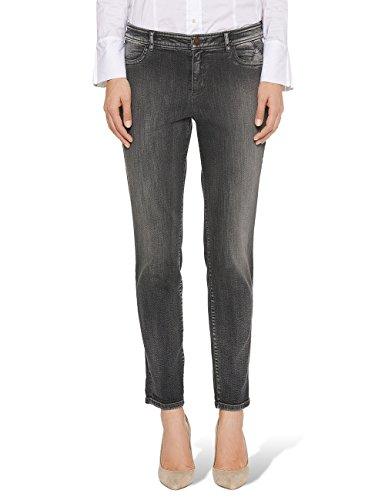 Marc Cain Additions Fa 82.22 D03 Jeans, Grigio (Flannel), W30L30 Donna