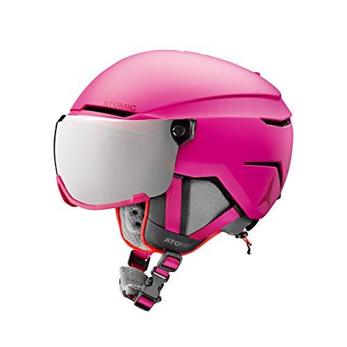 ATOMIC Kinder Skihelm Savor Visor Jr pink (315) XS