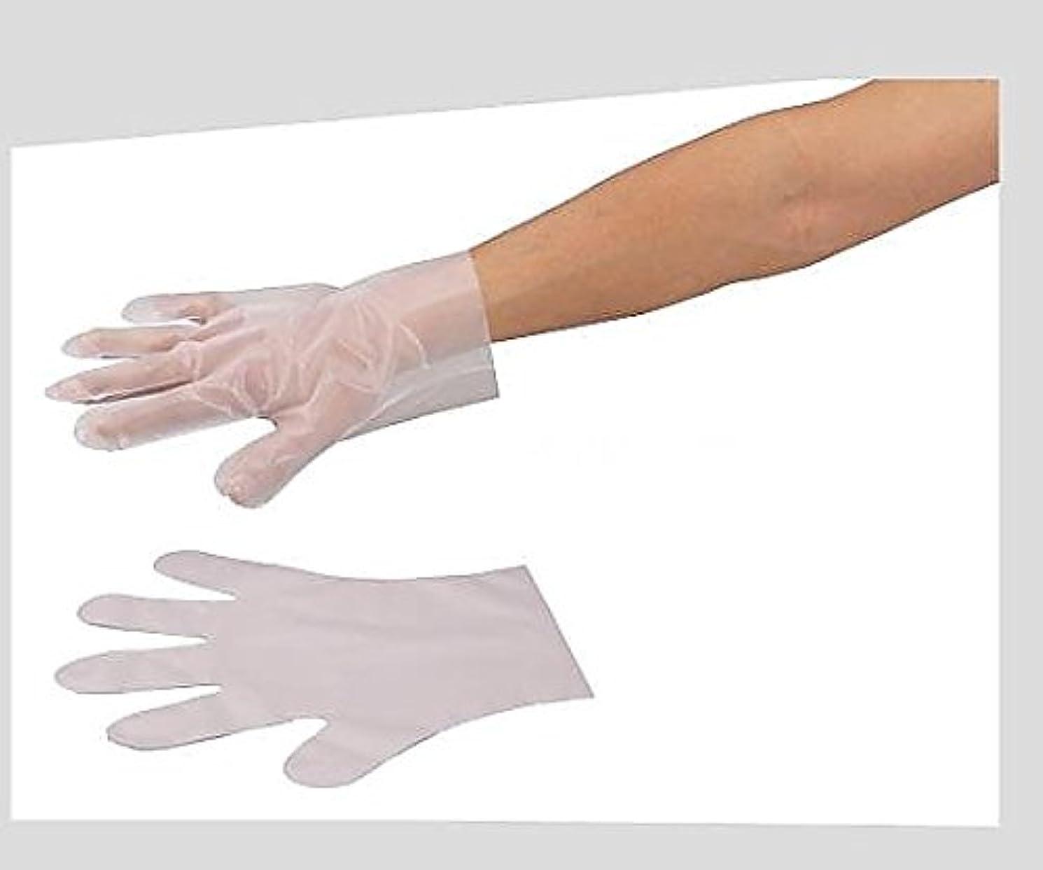 側溝する残酷アズワン6-896-01サニメント手袋(PE厚手タイプ)エンボス付L100枚入