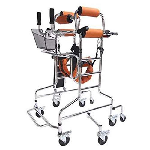 Advanced Walker - Rollator Medical Abschließbare Bremsen Gehhilfen Professional für ältere Menschen, Senioren, Behinderte, max. 180 kg