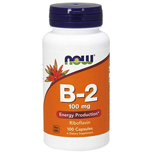 Now Foods, (2 Pack) B-2, 100 mg, 100 Capsules