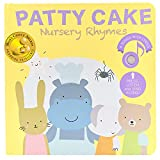 Cali's Books Patty Cake Nursery Rhymes Musical Book for Babies and Toddlers. Interactive Learning Toys. Educational Toy for 1 year old Girl and Boy. Book for Toddlers 1-3 and 2-4 years old
