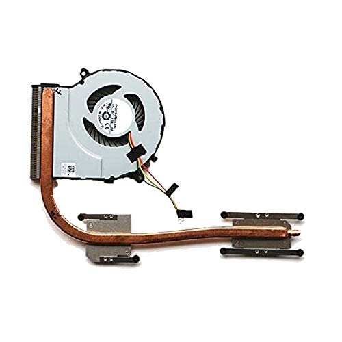 RTDpart Disipador de Calor y Ventilador para portátil para Toshiba Satellite L50-C L55-C L55-C5272 P50-C S55-C FN0575-S1033L2AL Nuevo