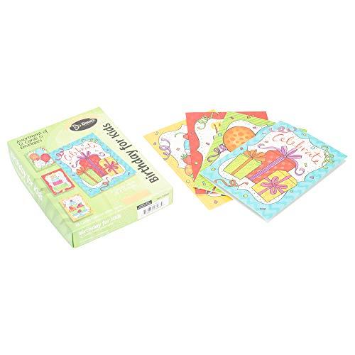 Card-Boxed-Birthday For Kids-Bright Confetti (Box