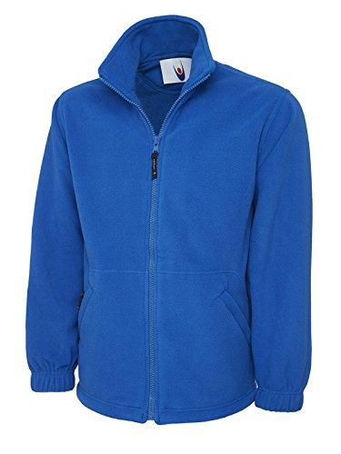 Uneek clothing UC604 – Veste en micro polaire à fermeture éclair classique (300 g/m²) – Bleu roi – Taille M
