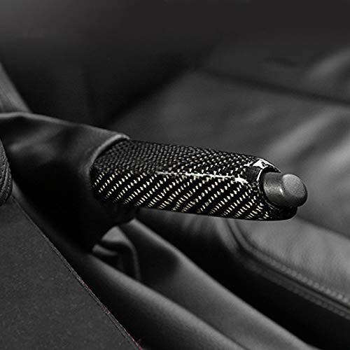 HDCF Kohlefaser-Auto-Handbremsgriffe decken Innenverkleidung für E46 E90 E92 E60 E39 F30 F34 F10 F20 Autoteile