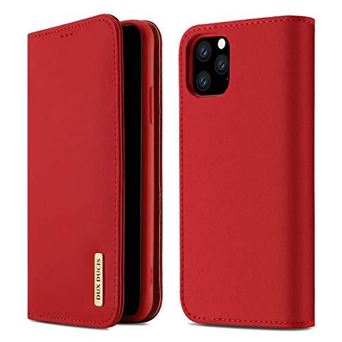 【WISH Series 高級牛革】iPhone 11 Pro ケース 手帳型 本革 アイフォン 11 プロ カバー 全面保護 磁石付き カード入れ スタンド機能 耐衝撃 耐摩擦 人気 おしゃれ ギフトボックス付き ワイヤレス充電に対応(iPhone 11