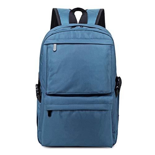 Stoff-Schultertasche Kreative Outdoor Wasserdicht Computer Rucksack Student Große Kapazität Reisetasche, königsblau (Blau) - 1