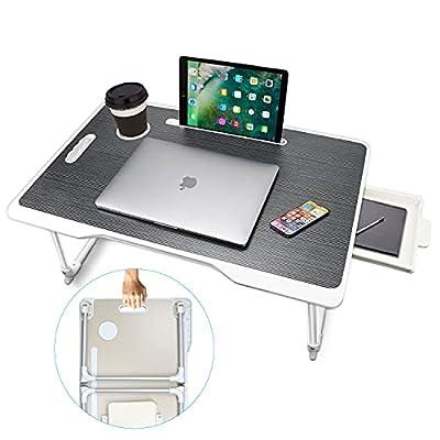 Lap Desk, TOULKUR Desk Bed Tray, Standing Desk,...