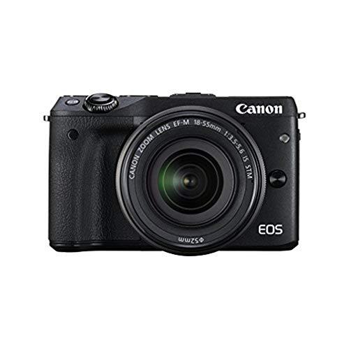 Canon EOS M3 EF-M 15-45 STM Kit fotocamere SLR 24,2 MP CMOS 6000 x 4000 Pixel Nero