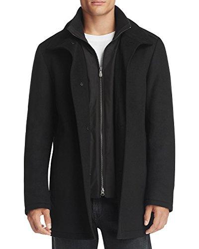 Hugo Boss Men's C-Coxtan 5 Wool - Cashmere Coat (Black,48R)