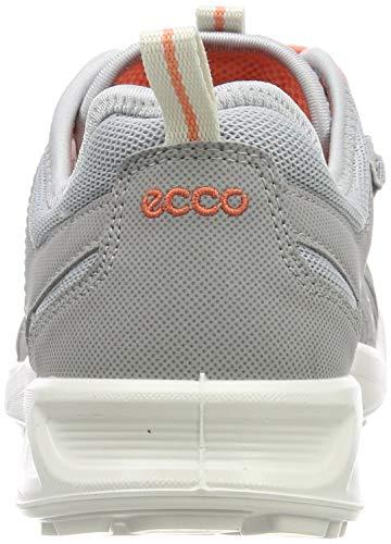 ECCO Women's Low Rise Hiking Shoes, Silver Grey Silver Metallic 59105