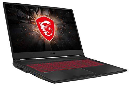 MSI GL75 9SD-220 43,9 cm (17,3 Zoll/120Hz) Gaming-Laptop (Intel Core i7-9750H, 16GB RAM, 512GB PCIe SSD + 1TB HDD, Nvidia GeForce GTX1660Ti 6GB, Windows 10 Home)