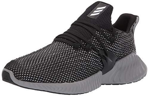 adidas Men's Alphabounce Instinct, black/white/grey, 9 M US
