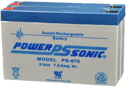 quality assurance Power Sonic PS-670 2P Price reduction ~ Rechargeable Battery 6v SLA 14Ah