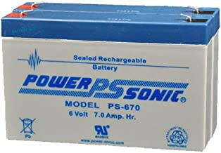 BatteryGuy PS-670(2P) 6V 14ah Rechargeable SLA Battery