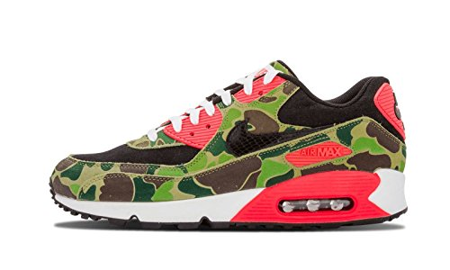 Nike Air Max 90 'Duck Camo' Atmos - Black/Black-Chlorophyll-Infrrd Trainer Size 6 UK