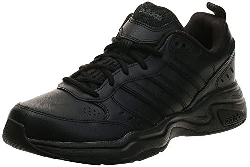 Adidas Strutter, Zapatillas Deportivas Fitness y Ejercicio Hombre, Negro Core Black Core Black Grey, 41 1/3 EU
