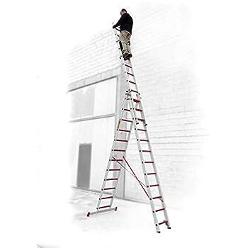 ESCALERA PROFESIONAL10+10+10 PELDAÑOS 3TFV.300 FARAONE. LCS: Amazon.es: Bricolaje y herramientas