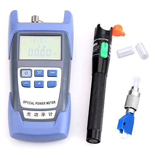 Optischer Leistungsmesser ,and mit Fehlersuchgerät, FC-LC Adapter