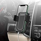 Yoozon Soporte Móvil Coche,Ajustable 360 Grados Rotación con Ventilazión Universal Compatible con iPhone Andriod para iPhone XS MAX/XR/XS/X/8/8 Plus/7/7 Plus/, Galaxy S9/S8/S7/Note 9,etc