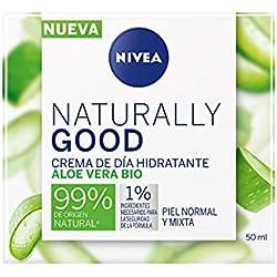 Nivea Naturally, Crema hidratante de día, 50ml