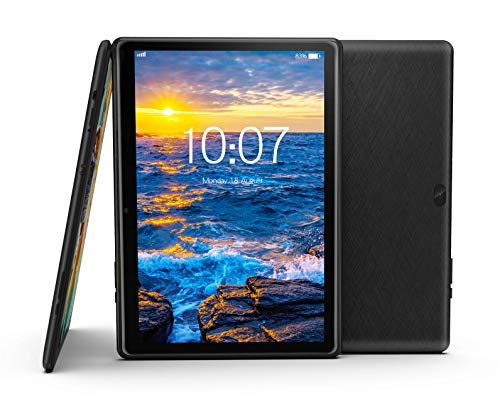 10.1 inch Android 10 OS Tablet by Azpen IPS HD Display 2GB RAM 32GB Storage with Case Bundle