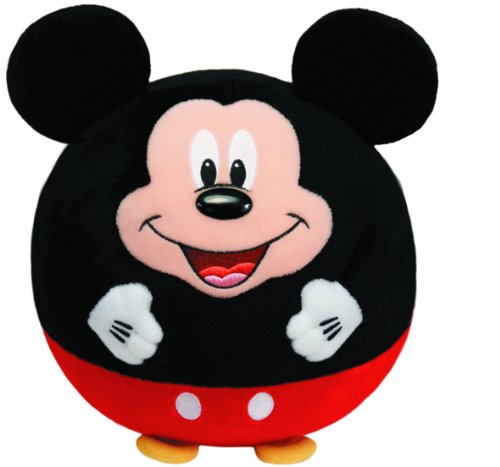 Ty Beanie Ballz Mickey Mouse Plush