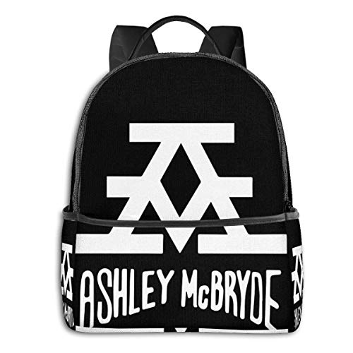 AOOEDM Ashley Mcbryde School Travel Dual Purpose Large-Capacity Schoolbag Backpack