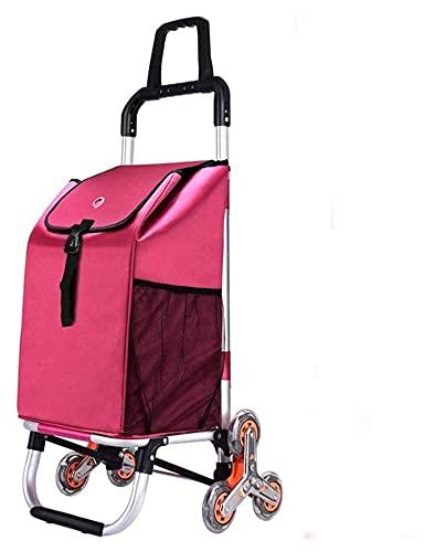 TabloKanvas Carreras de Escalera de Escalera con Tapa y Bolsillo con Cremallera 40L Capacidad Impermeable 6 Ruedas y Ruedas de Cristal (Color : C, Size : 96x45x39cm)