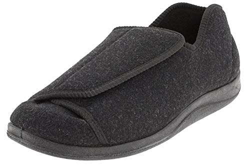 Foamtreads Men's Doctor, Charcoal Wool, 11 W US