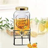 TREO Glass Water Dispensing Jar- 5000 ml, 1 Piece,Transparent