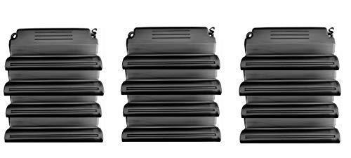 well2wellness® Hochwertiges Pool Eisdruckpolster Set - 12 Stück mit Sand beschwert + Verbindungshaken