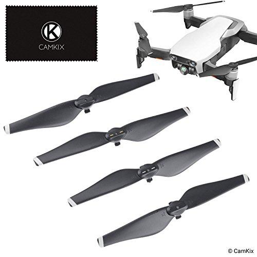CamKix Hélices Compatible con DJI Mavic Air – 2 juegos (8 cuchillas) – Alas plegables de liberación rápida – Diseño probado para vuelo – Accesorio esencial para su DJI Mavic Air