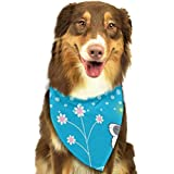 Jxrodekz Dinosaurios de Dibujos Animados Bandanas Triángulo Baberos Bufanda Pajaritas para Perros Disfraces para Mascotas Accesorios