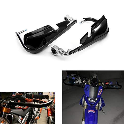 Moto Protección de Manos Motocicleta Universal Mano Guard Shield Motocicleta Motocross Scooter a Prueba de Viento 22mm 25mm 28mm Manillar Equipo de protección
