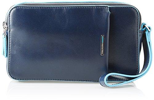 Piquadro ,  Unisex-Erwachsene portemonnaie, Blau - Blau (Blu Notte BLU2) - Größe: 5x12x21 cm (W x H x L)
