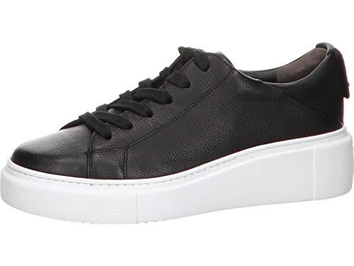 Paul Green Damen Sneaker Schlichter Sneaker in Schwarz 4836-076 schwarz 796979